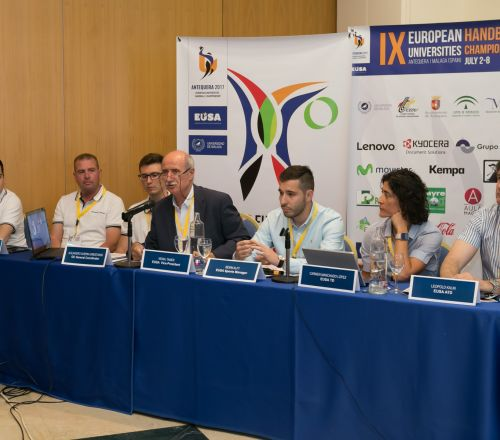 The 9th EUSA Handball 2017's competition schedule has already been released