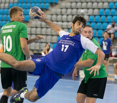 Duisburg-Essen and Stefan Cel will compete in the great final of the 9th European Universities Handball Championship